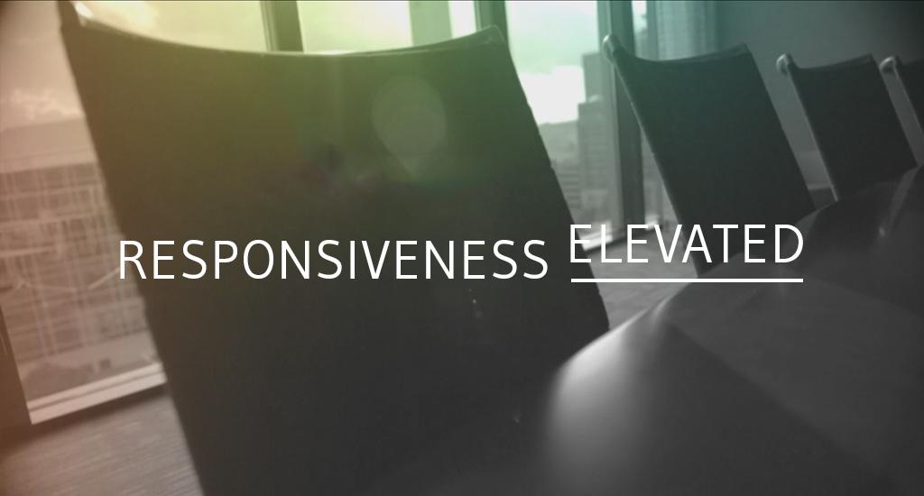 responsiveness-elevated